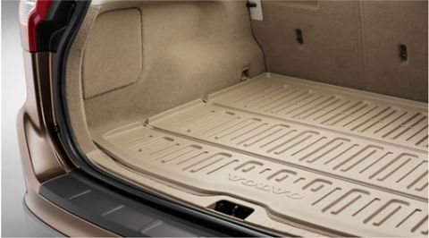 XC60 (1st gen) Shaped plastic load compartment mat